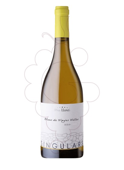 Photo Mas Llunes Singulars Carinyena Blanca white wine