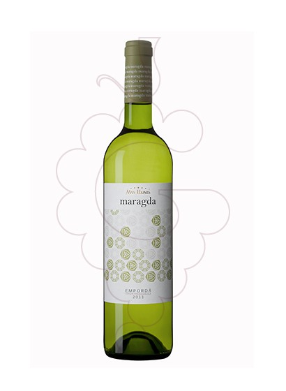 Photo White Mas Llunes Maragda white wine