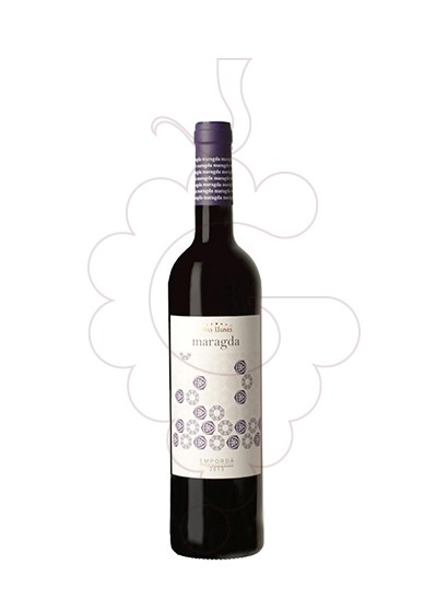 Photo Red Mas Llunes Maragda red wine