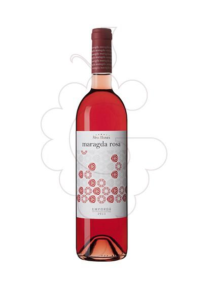 Photo Mas Llunes Maragda Rosat rosé wine