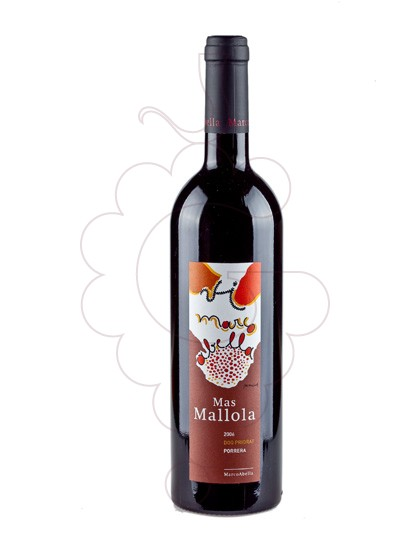 Photo Mas Mallola red wine