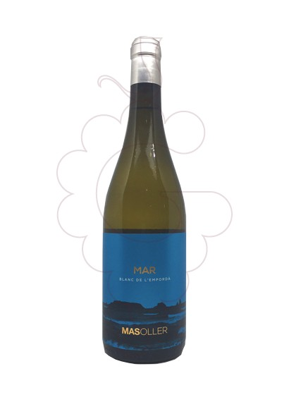 Photo Mas Oller Mar white wine
