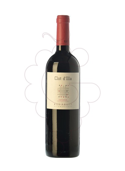 Photo Mas Polit Clos d'Illa red wine