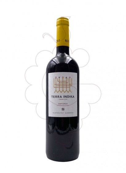 Photo Mas Pòlit Terra Indika red wine