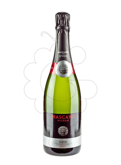 Photo Mascaró Nigrum Brut sparkling wine