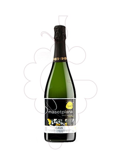 Photo Masetplana Brut Nature sparkling wine