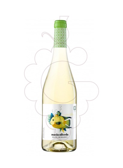 Photo Masia Oliveda Blanc white wine