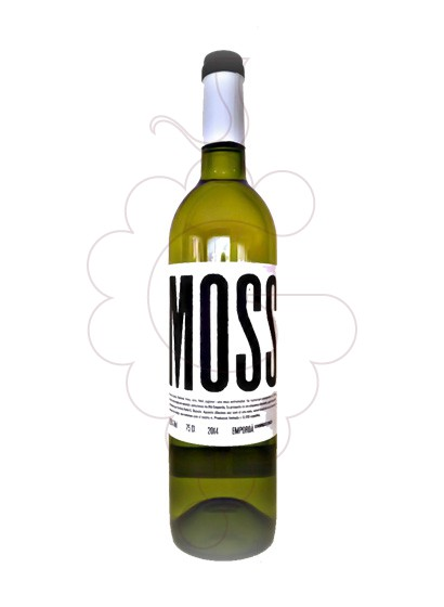 Photo White Masia Serra Mosst white wine