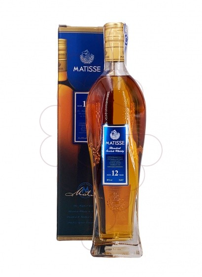 Photo Whisky Matisse Blended 12 Years
