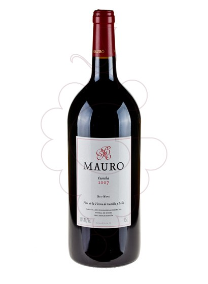 Photo Mauro Magnum red wine