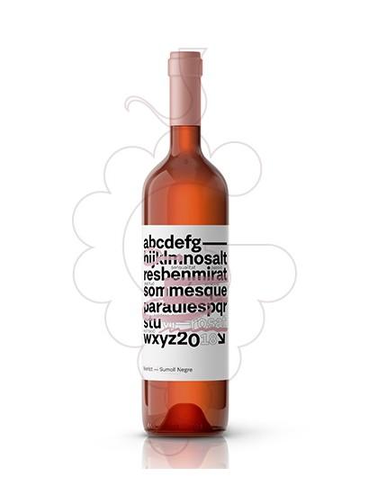 Photo Rosé Més que Paraules rosé wine