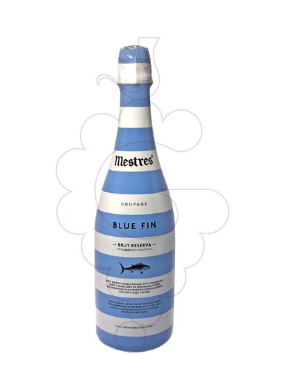 Photo Mestres Blue Fin Gran Reserva Brut sparkling wine