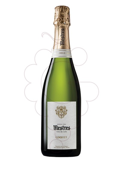 Photo Mestres Coquet Brut Nature sparkling wine