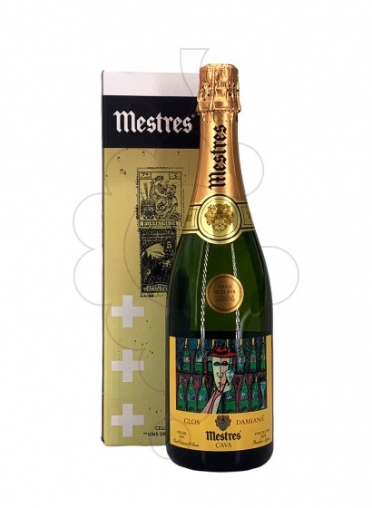 Photo Mestres Clos Damiana Brut Nature sparkling wine