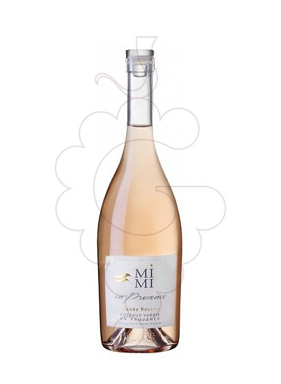 Photo Mimi en Provence rosé wine