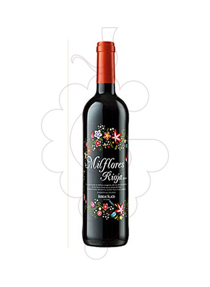 Photo Red Mil Flores red wine