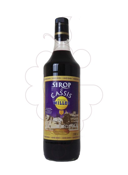 Photo Syrups Milles Sirop de Cassis