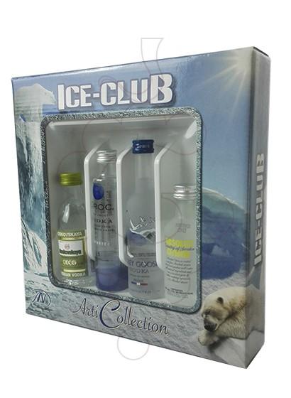 Photo Vodka Minipack Ice-Club Vodka 4 u