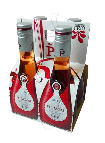 Photo Mini Pack Peñascal Rosat 4 u rosé wine