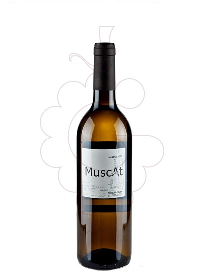Photo Miquel Oliver Blanc Muscat white wine