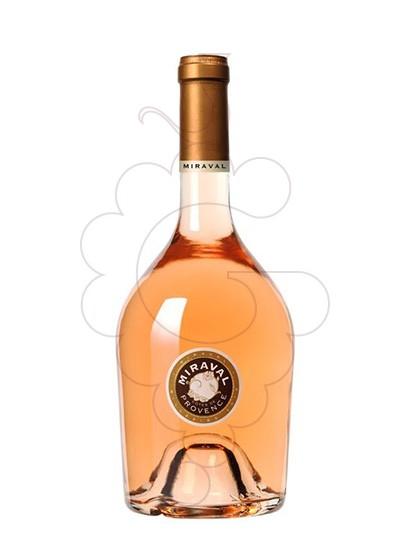 Photo Miraval rosé wine