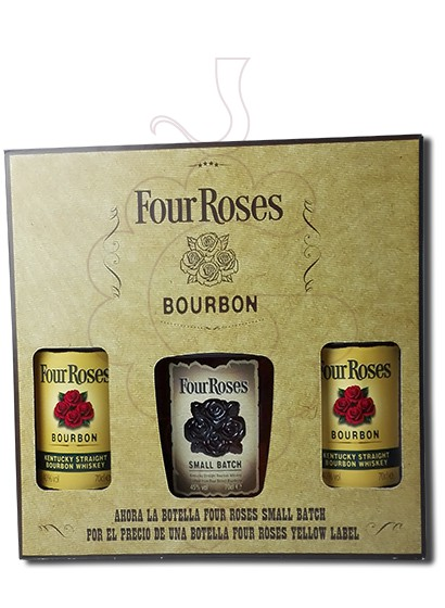 Photo Whisky Four Roses Pack (2 u + 1  Small Batch)