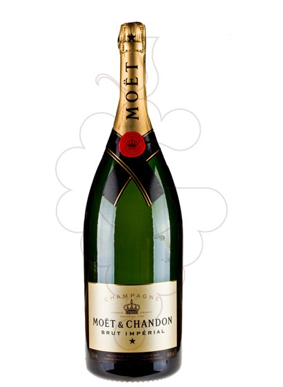 Photo Moet & Chandon Brut Imperial Mathusalem sparkling wine