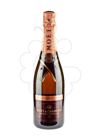 Photo Moet & Chandon Rose Grand Vintage sparkling wine
