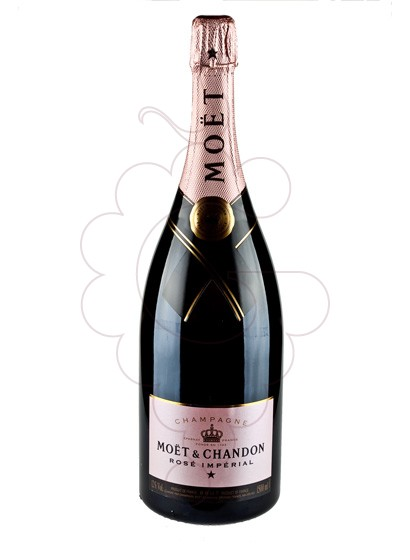 Photo Moet & Chandon Rosé I. Magnum sparkling wine