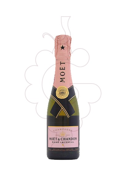 Photo Moet & Chandon Rose Imperial (mini) sparkling wine