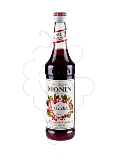 Photo Syrups Monin Airelles (s/alcohol)