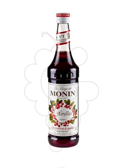 Photo Syrups Monin Airelles (s/alcohol)