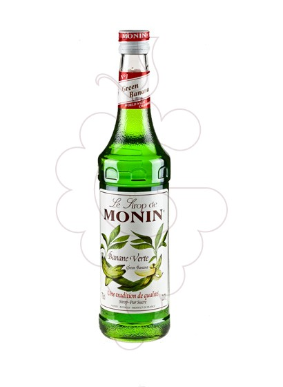 Photo Syrups Monin Banane Verte (s/alcohol)