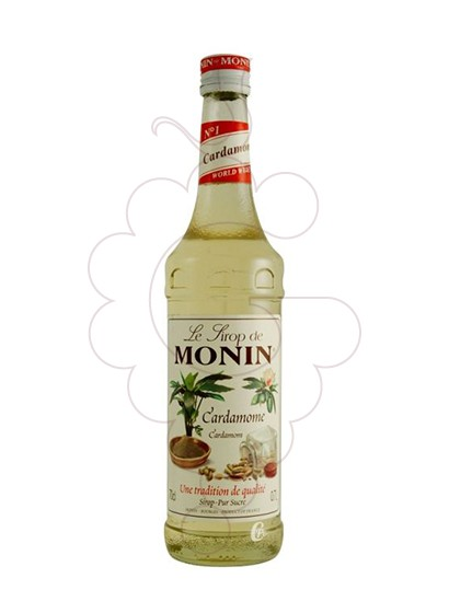 Photo Syrups Monin Cardamome (s/alcohol)