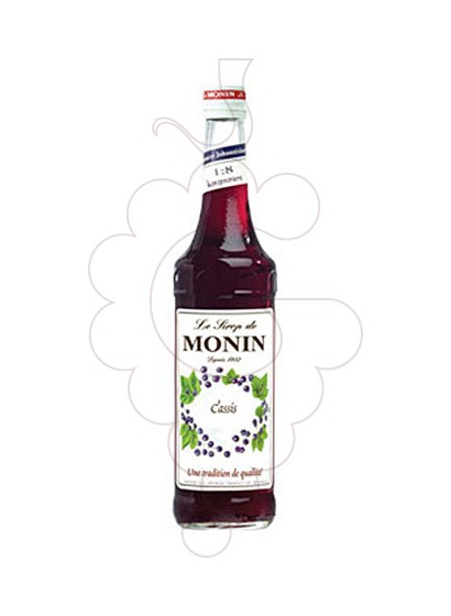 Photo Syrups Monin Cassis (s/alcohol)