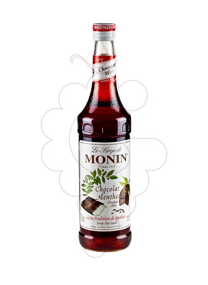 Photo Syrups Monin Chocolat Menthe (s/alcohol)