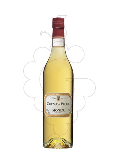 Photo Liqueur Monin Creme de Peche