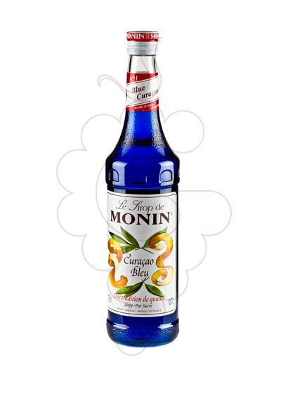Photo Syrups Monin Curacao Bleu (s/alcohol)