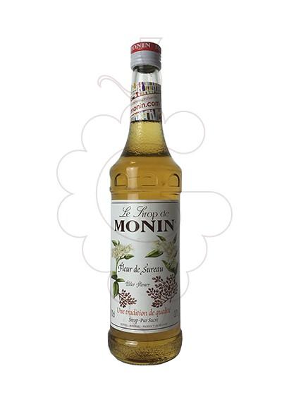 Photo Syrups Monin Fleur de Sureau (s/alcohol)