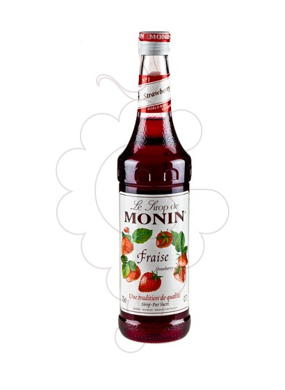 Photo Syrups Monin Fraise (s/alcohol)