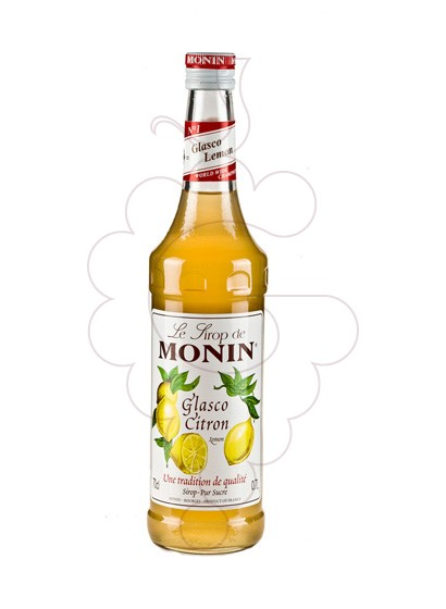 Photo Syrups Monin Glasco Citron (s/alcohol)