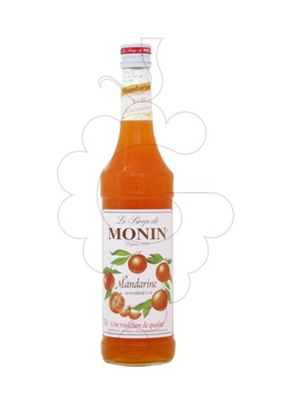 Photo Syrups Monin Mandarine (s/alcohol)