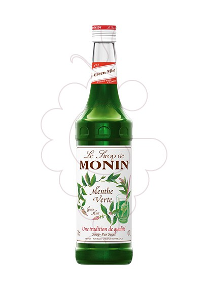 Photo Syrups Monin Menthe Verte (s/alcohol)