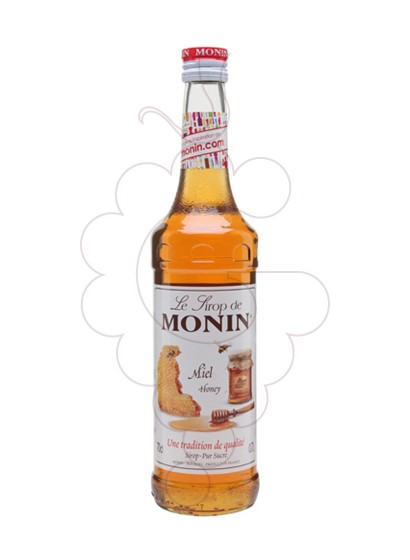 Photo Syrups Monin Miel (s/alcohol)