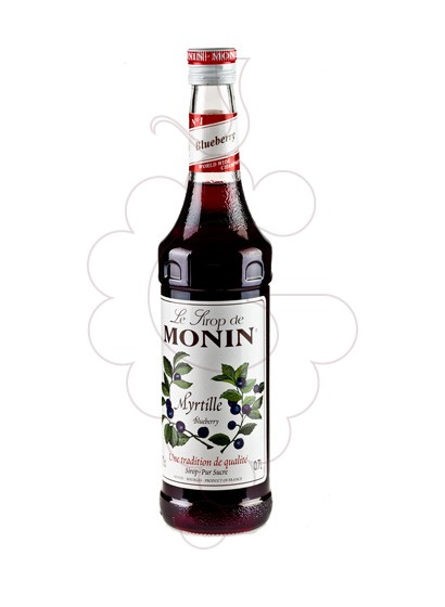 Photo Syrups Monin Myrtille (s/alcohol)