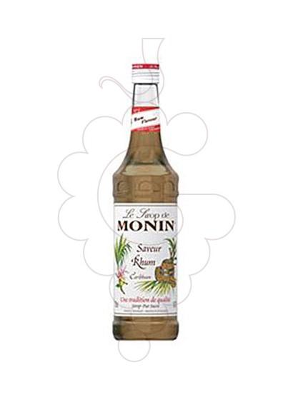 Photo Syrups Monin Saveur Rhum (s/alcohol)