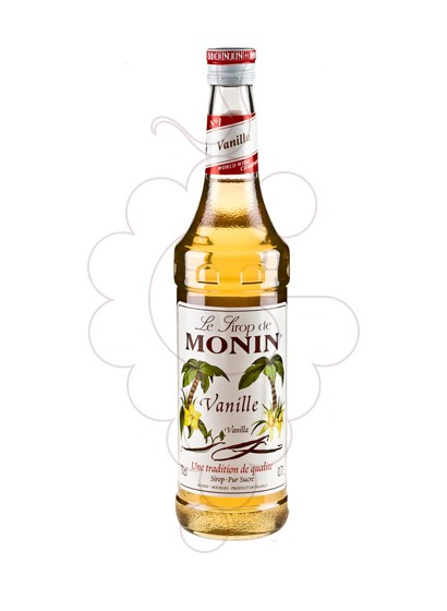 Photo Syrups Monin Vanille (s/alcohol)