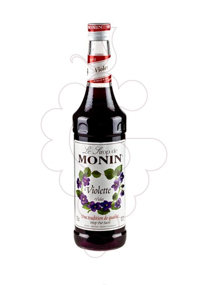 Photo Syrups Monin Violette (s/alcohol)