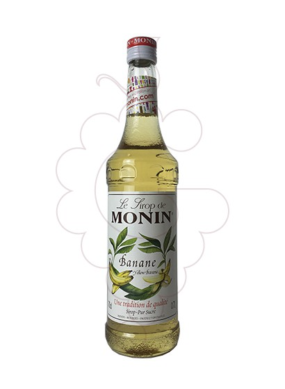 Photo Syrups Monin Yellow Banana (s/alcohol)