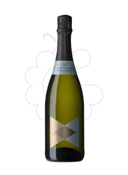 Photo Mont-Ferrant Blanes Nature sparkling wine